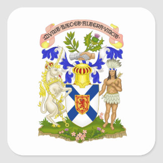Nova Scotia Canada Coat of Arms Stickers