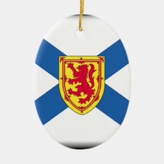 Nova Scotia (Canada) Flag Christmas Ornament