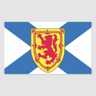 Nova Scotia Canada Flag Rectangle Sticker