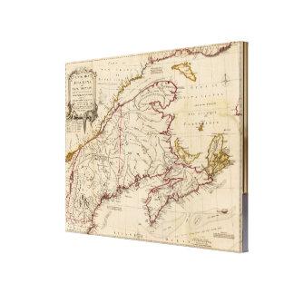 Nova Scotia, Cape Britain Canvas Print
