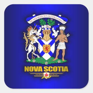 Nova Scotia COA Square Sticker