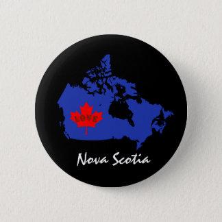 Nova Scotia  Customize Canada pin button