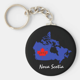 Nova Scotia  Customize Canada province Key Ring