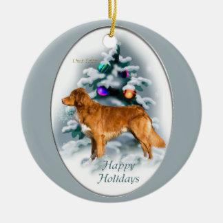 Nova Scotia Duck Tolling Retriever Christmas Gifts Christmas Ornament