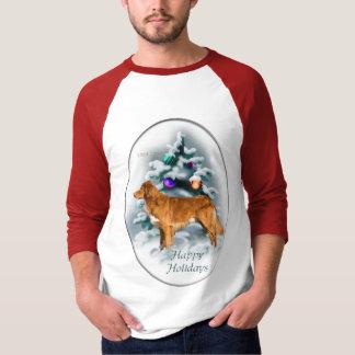 Nova Scotia Duck Tolling Retriever Christmas Gifts T-Shirt