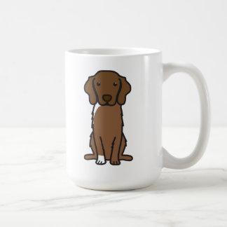 Nova Scotia Duck Tolling Retriever Dog Cartoon Basic White Mug
