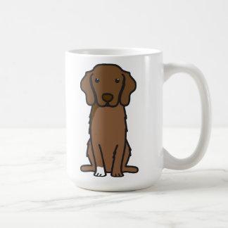 Nova Scotia Duck Tolling Retriever Dog Cartoon Coffee Mug