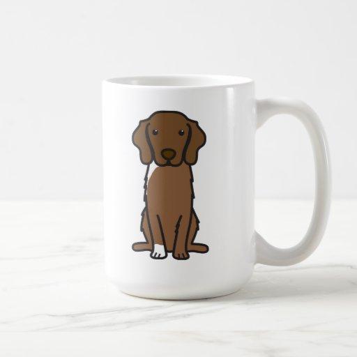Nova Scotia Duck Tolling Retriever Dog Cartoon Coffee Mugs