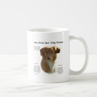 Nova Scotia Duck Tolling Retriever History Design Coffee Mug