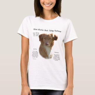 Nova Scotia Duck Tolling Retriever History Design T-Shirt