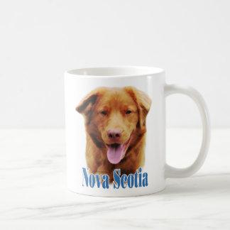 Nova Scotia Duck Tolling Retriever Name Coffee Mug