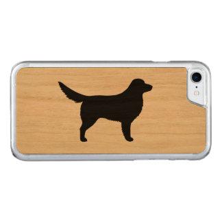 Nova Scotia Duck Tolling Retriever Silhouette Carved iPhone 8/7 Case