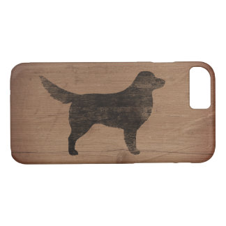 Nova Scotia Duck Tolling Retriever Silhouette iPhone 7 Case
