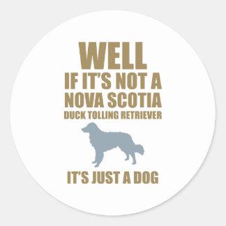 Nova Scotia Duck Tolling Retriever Round Sticker