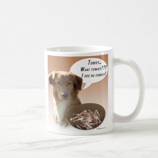 Nova Scotia Duck Tolling Retriever Turkey Coffee Mug