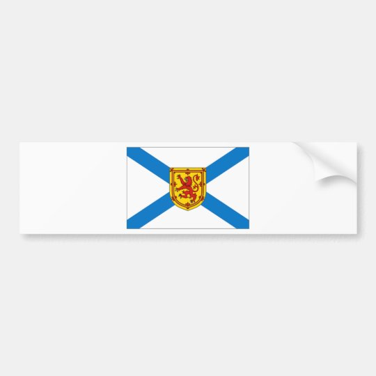 Nova Scotia Flag Bumper Sticker