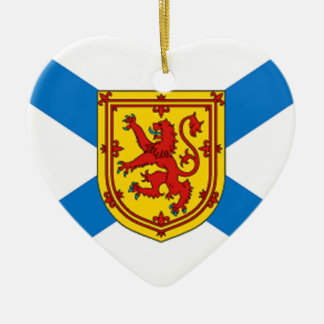 Nova Scotia Flag Christmas Ornament