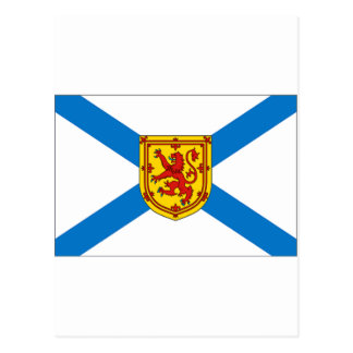 Nova Scotia Flag Postcard