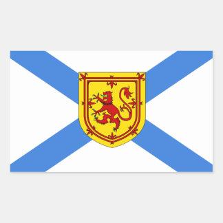 Nova Scotia Flag Rectangular Sticker