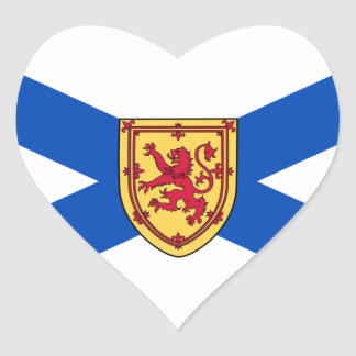 nova scotia heart sticker