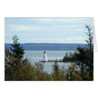 Nova Scotia Lighthouse Card