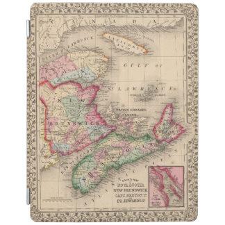 Nova Scotia, New Brunswick, Map by Mitchell iPad Cover