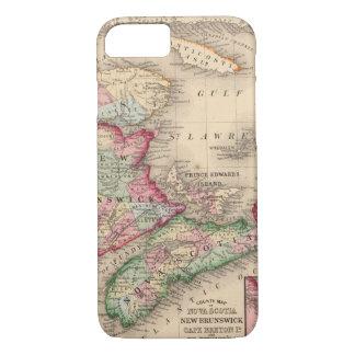 Nova Scotia, New Brunswick, Map by Mitchell iPhone 8/7 Case