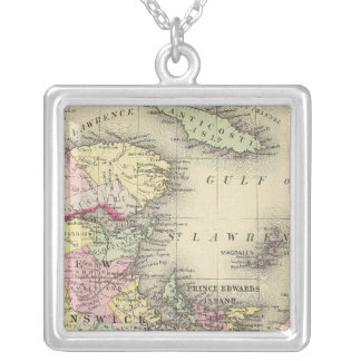 Nova Scotia, New Brunswick, Pr Edward's Id Silver Plated Necklace