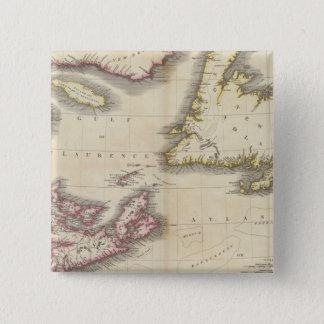 Nova Scotia, Newfoundland 15 Cm Square Badge