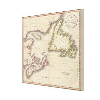 Nova Scotia, Newfoundland Canvas Print