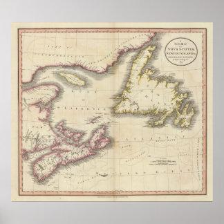 Nova Scotia, Newfoundland Poster