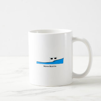 Nova Scotia Novi Commercial Fishing Boat Basic White Mug
