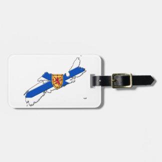 Nova Scotia Personalized Travel tag, Luggage Tag