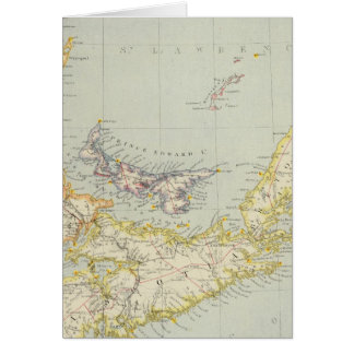 Nova Scotia, Prince Edward Island, Newbrunswick Card