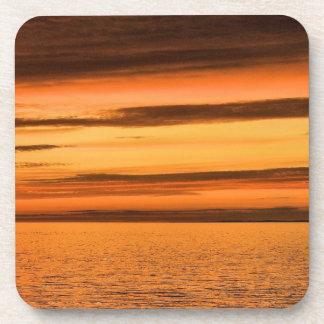 Nova Scotia s Sunset Drink Coasters