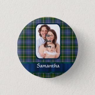 Nova Scotia tartan 3 Cm Round Badge