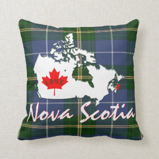 Nova Scotia tartan Customize love Canada  Pin town Cushion