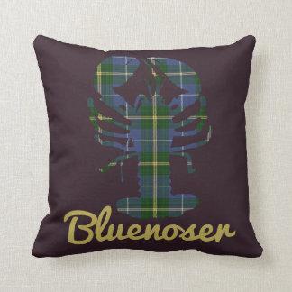 Nova Scotia Tartan Decorator Lobster Bluenoser Cushion