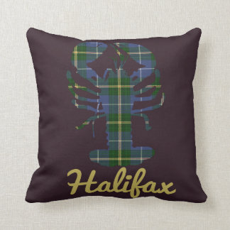 Nova Scotia Tartan Decorator Lobster Halifax Cushion