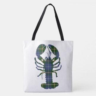 Nova Scotia Tartan Lighthouse Route  lobster Bag