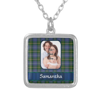 Nova Scotia tartan Silver Plated Necklace