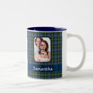 Nova Scotia tartan Two-Tone Coffee Mug