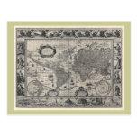 Nova totius terrarum, 1606 Antique World Map