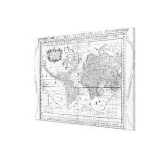 Nova Totius Terrarum Orbis Canvas Print
