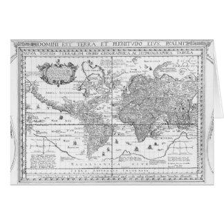Nova Totius Terrarum Orbis Card