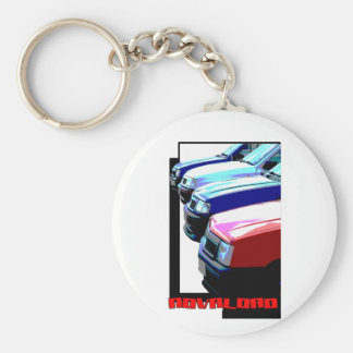 Novaload Basic Round Button Key Ring