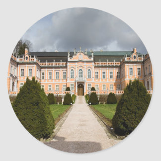 Nove Hrady Castle, Bohemia, Czech Sticker