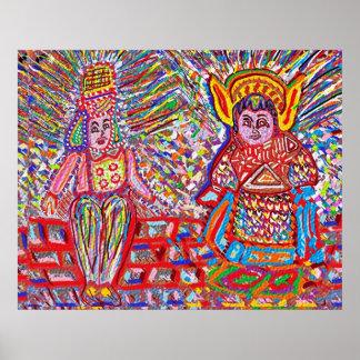 NOVEEN n JOSHANI : Featherless Flying Angels Poster