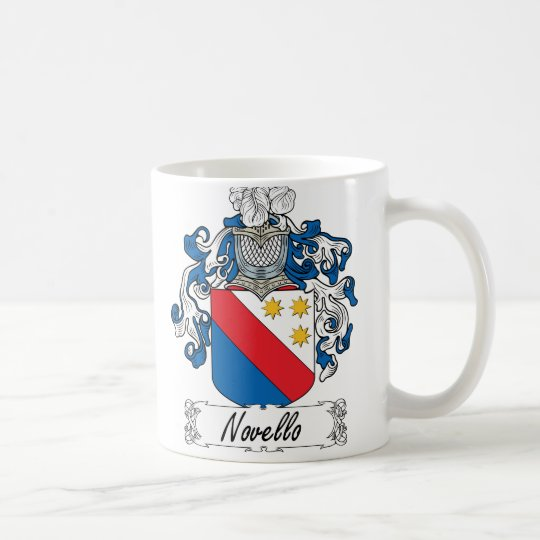 Novello Family Crest Coffee Mug