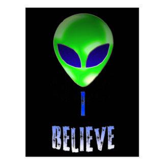 Novelty Alien Designs Post Cards